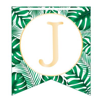 Guirlande Joyeux Anniversaire Jungle 5 mètres