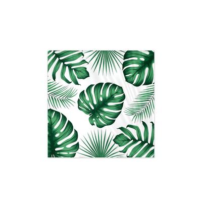 12 serviettes Joyeux anniversaire jungle