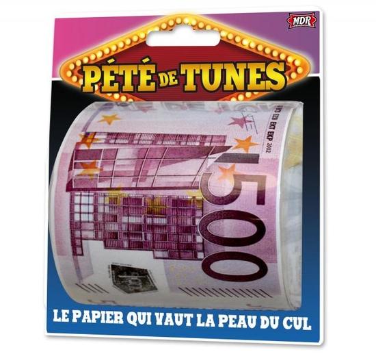 """Papier Toilette """"Pété de tunes"""""""
