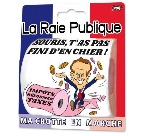 """Papier Toilette """"La Raie Publique"""""""