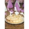 9 Mini Cake Toppers Sirène