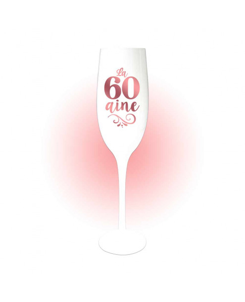 Flûte à champagne blanche - âge au choix