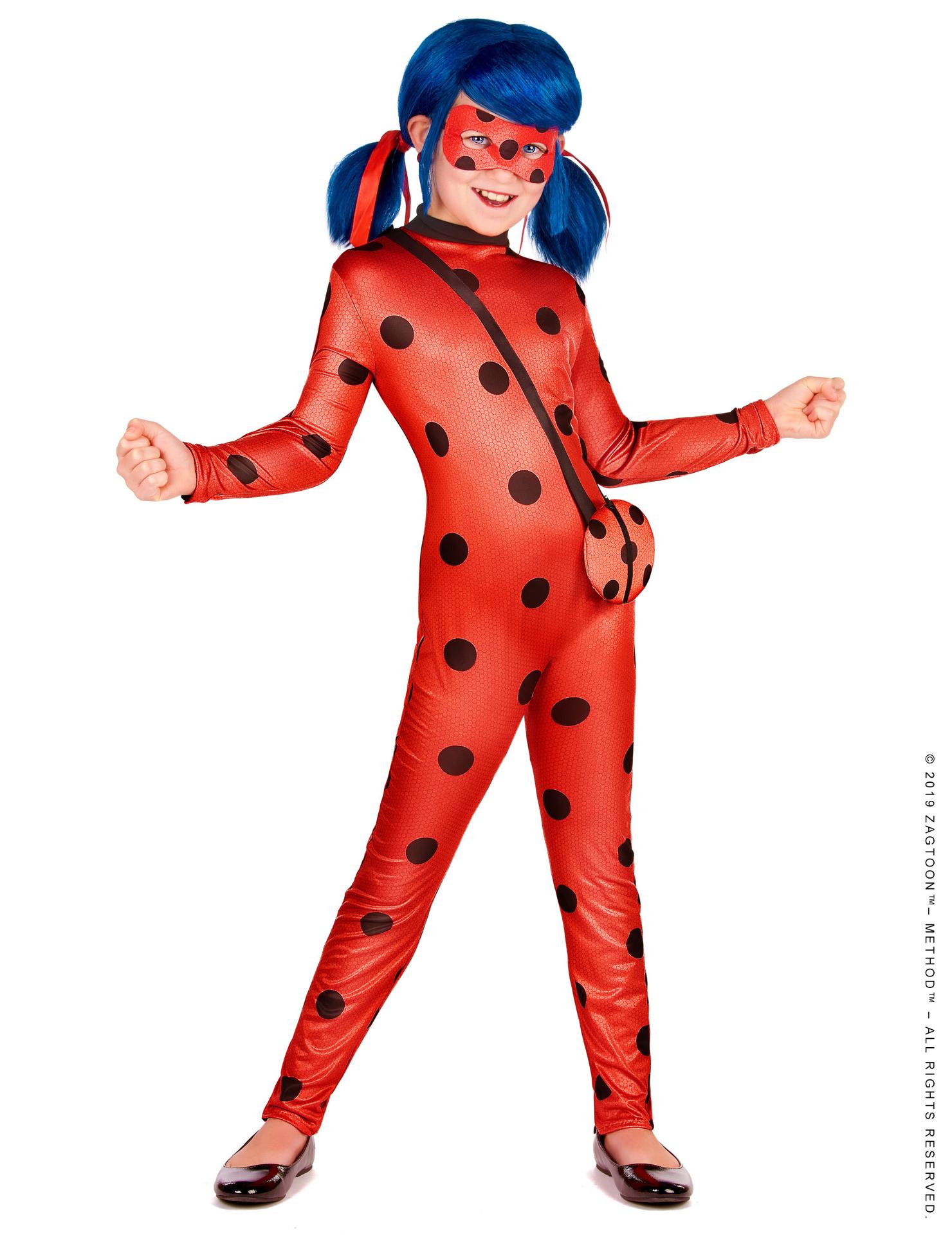 Déguisement Ladybug avec Sac - Fille